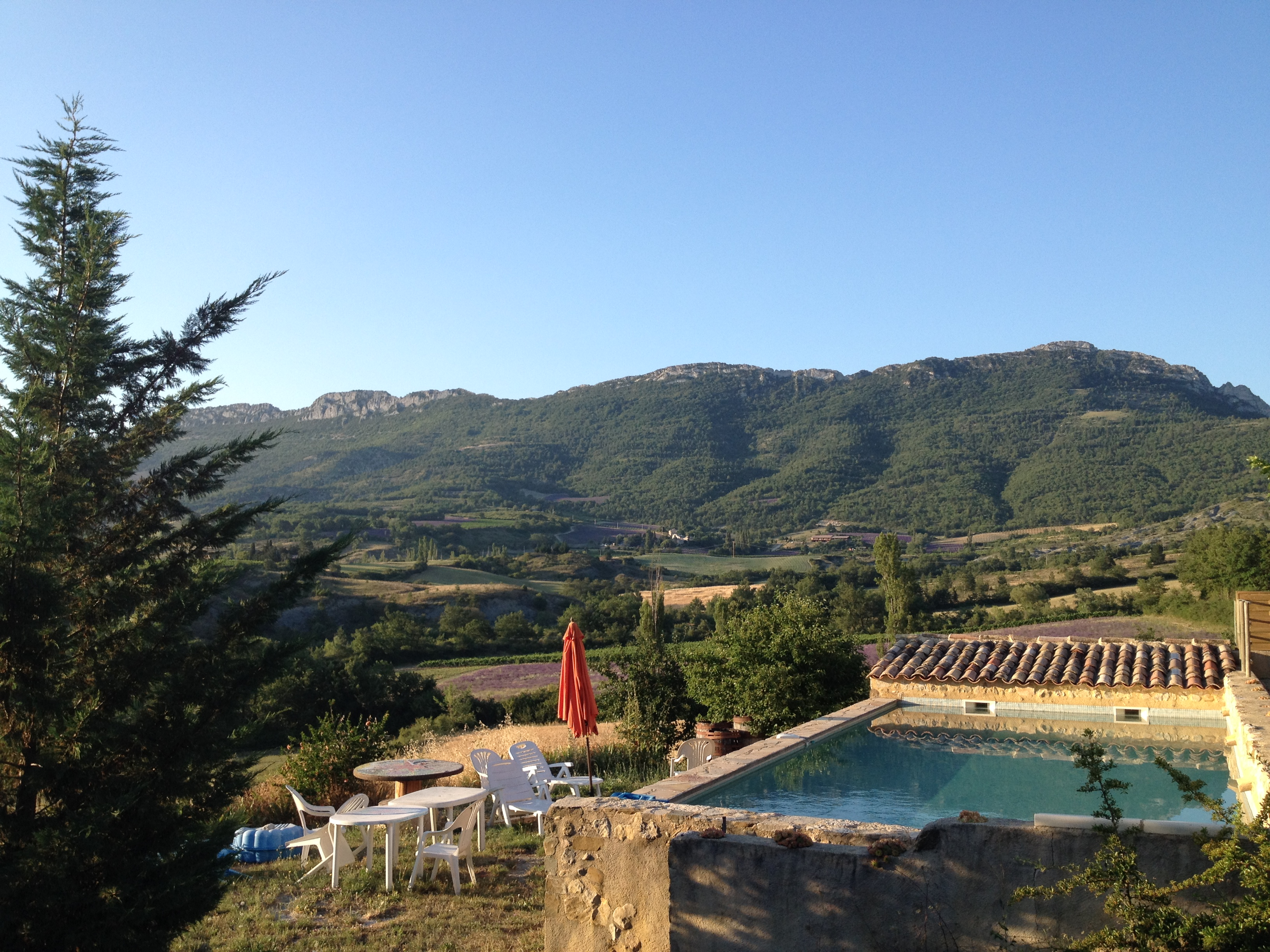 piscine privative provence