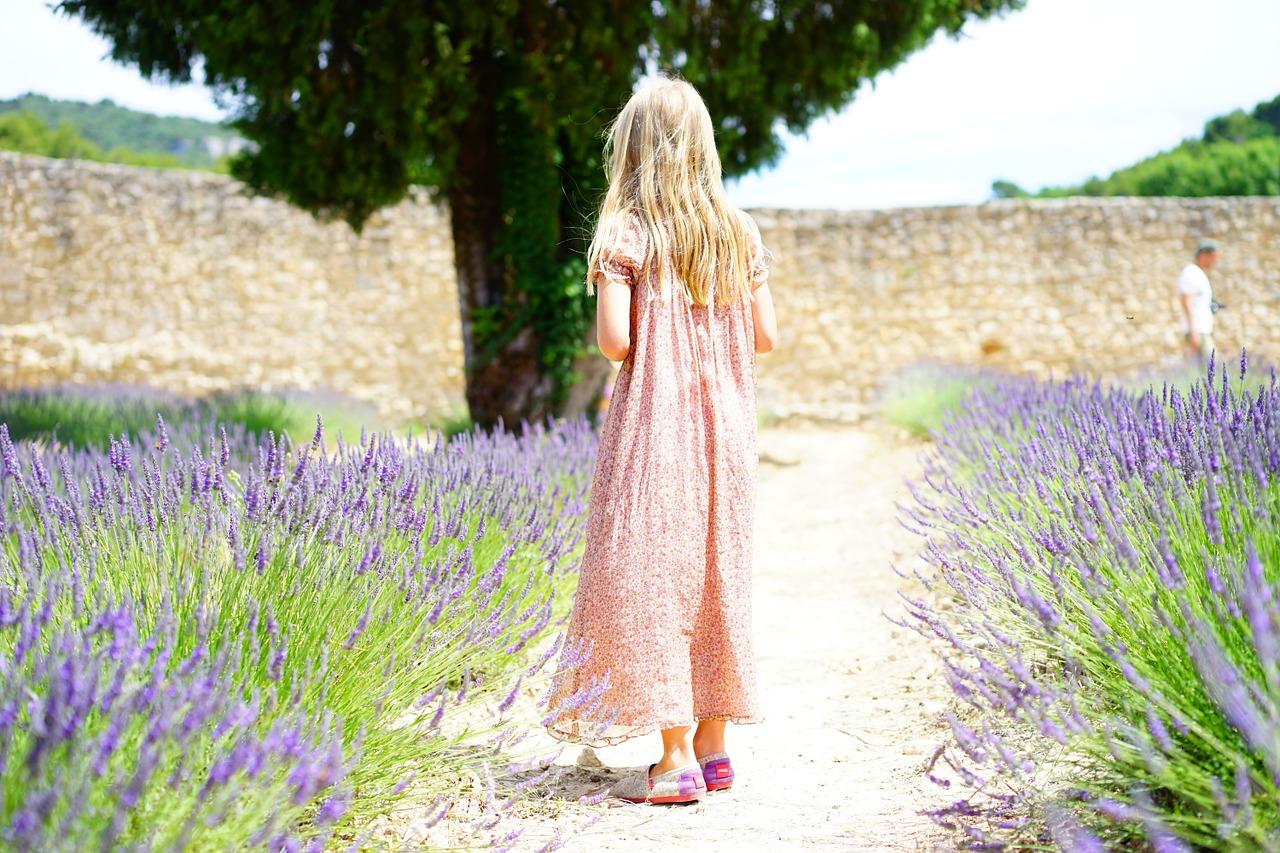 Jardin botanique enfant