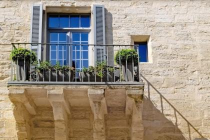 Balcon villa en Provence