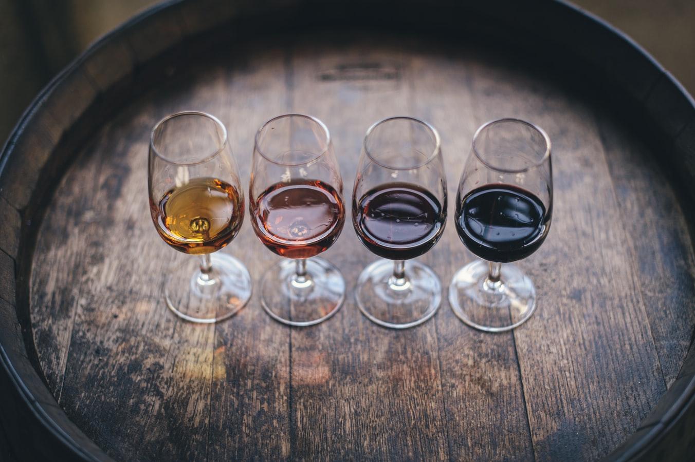 verres de vin AOC