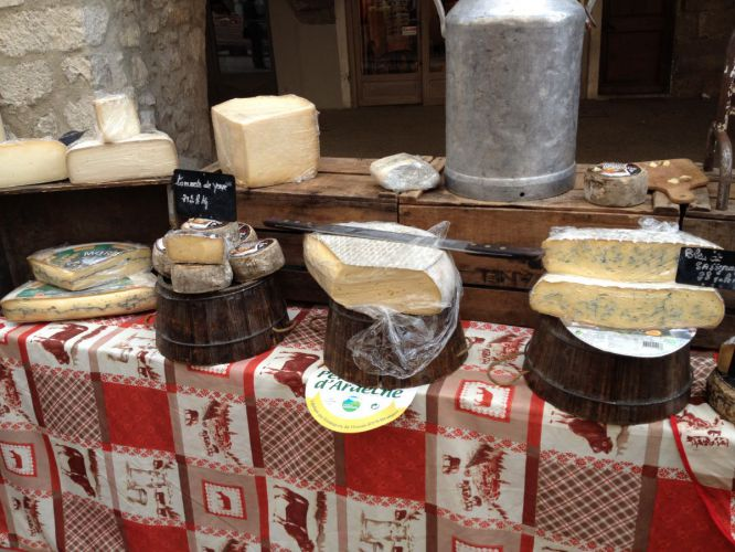 Marché fromage