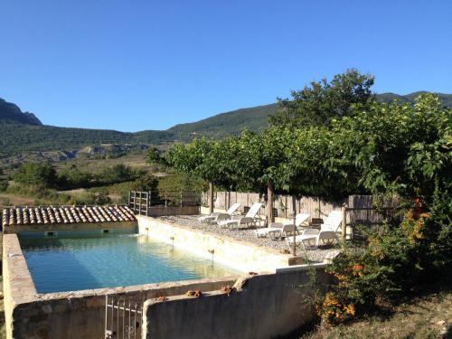 La piscine des gites